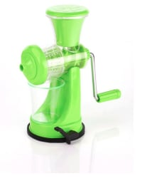 Floraware Light Green Fruit & Vegetable Nano Manual Juicer