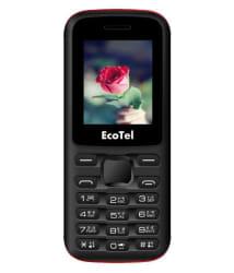 EcoTel E15 Dual sim Mobile Black Green
