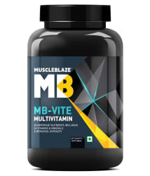 MuscleBlaze MB-VITE 120 no.s Multivitamins Capsule