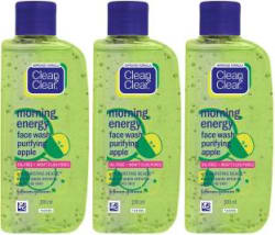 Clean & Clear Morning Energy Apple Facewash Face Wash 300 ml