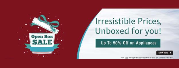 Open Box Sale