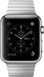 Apple Watch 42 mm Stainless Steel Case with Link Bracelet (Grey Strap Medium)