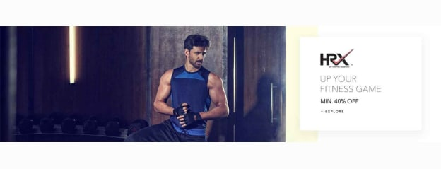 HRX Store - Buy HRX Clothing & Accessories Online in India