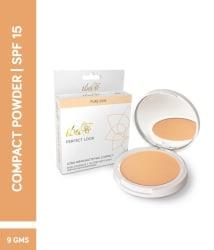 Iba Halal Perfect Look Long-Wear Mattifying Pressed Powder 03 Natural Coral SPF 15 9 gm