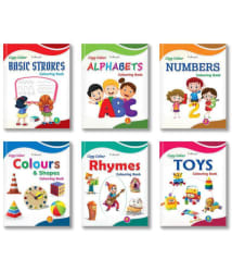 Copy Color Colouring Books for Early Learning by InIkao