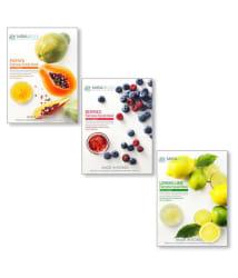MIRABELLE KOREA Fairness (Papaya,Berries,Lemon-PBL) Face Mask Masks Each 25 ml Pack of 3