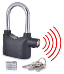 Ultimate Anti Theft Motion Sensor Alarm Lock For Bike, Door & Bicycle