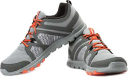 Nivia RS-03 Walking Shoes For Men Black, Orange
