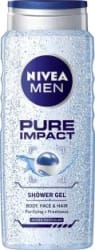 Nivea MEN Pure Impact Shower Gel(500 ml)