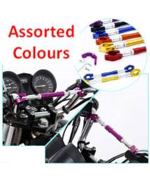 Universal Adjustable Motorcycle Handlebar Cross Bar For All bikes - Assorted Colors