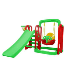 Samaaya Super Senior Slide and Hanging Swing Combo (Multicolour)