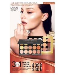 Lakyou Beauty Highlighter & Contour Makeup Contour Kit