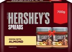 Hershey s Spreads Cocoa with Almond-Twin Pack 700 g