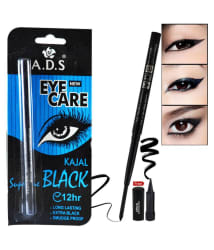 ADS Eye Care 12Hr Kajal Stick Black 0.35 gm