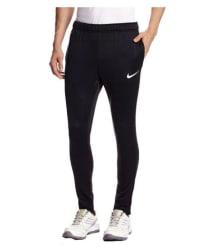 Nike Black Polyester Jogging Track Pant for Men
