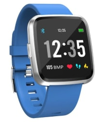 Life Like T8H HEART RATE Waterproof Smart Watches Blue