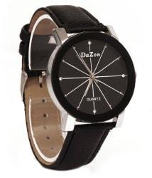 DaZon Trendy Leather Analog Men s Watch