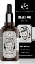 The Man Company 100% Natural Beard Growth Oil - (Almond and Thyme) Hair Oil 30 ml