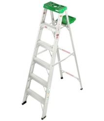 Liberti Aluminium 6 Feet 5 Years Warranty DIY Ladder With Utility Tray