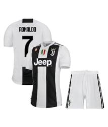 Juventus Ronaldo Jersey With Shorts Football Kit