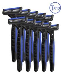 LetsShave Dorco Pace 2 Plus Disposable Razor - Pack of 10
