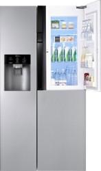 LG 659 L Frost Free Side by Side 3 Star Refrigerator Noble Steel, GC - J237JSNV