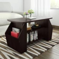 Valtos Engineered Wood Coffee Table Finish Color - Wenge