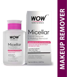 WOW Skin Science Micellar Facial Cleanser & Make Up Remover 180 mL