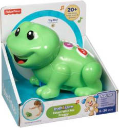 Fisher-Price LL COUNT WITH ME FROGGY Green