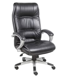 High Back Director Leatherette chair - Black - Buy High Back Director Leatherette chair - Black Online at Best Prices in India on Snapdeal