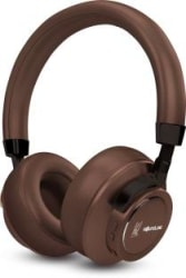 SoundLogic MSD Edition Voice Assistant Wireless Stereo Headphon Bluetooth Headset with Mic Brown, Over the Ear