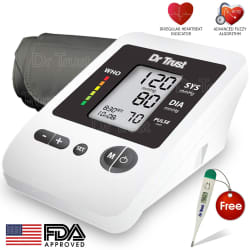 Dr. Trust (USA) Blood Pressure Monitor Silver Line