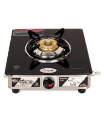SAFELINE Club 01 Glass 1 Burner Manual Gas Stove