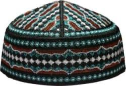 MOMIN BAZAAR Embroidered OVAIS MUSLIM PRAYER CAR/NAMAZ TOPI/ MUSLIM SKULL CAP/ MUSLIM NAMAZ TOPI Cap