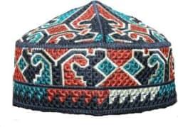 MOMIN BAZAAR Embroidered MUSLIM PRAYER CAP/MUSLIM NAMAZ TOPI Cap