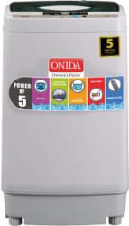Onida 6.2 kg Fully Automatic Top Load Washing Machine Grey T62CGN / CRYSTAL 62