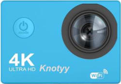 Knotyy Action Camera 4K Sports and Action Camera Blue, 16 MP