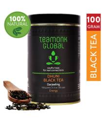Teamonkglobal Darjeeling Black Tea Loose Leaf 100 gm
