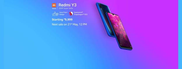 Redmi Y3: Electronics