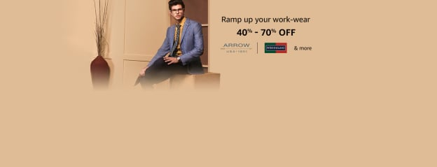 Formal wear for men s: Shop for formal wear at best prices in India - Amazon.in