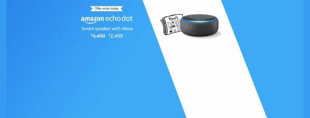 All-new Echo Dot (3rd Gen) - Smart speaker with Alexa (Black): Kindle Store