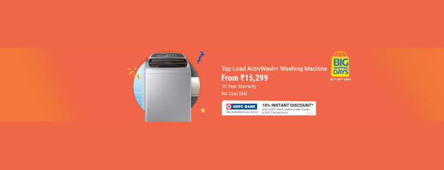 Samsung 6.2 kg Fully Automatic Top Load Washing Machine White, Grey Price in India - Buy Samsung 6.2 kg Fully Automatic Top Load Washing Machine White, Grey online at Flipkart.com