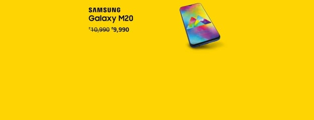 Samsung Galaxy M20 (Ocean Blue, 3+32GB): Electronics