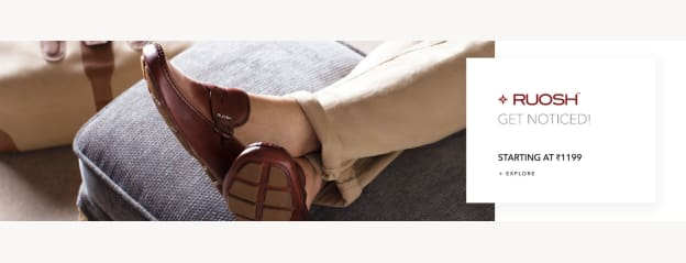 Ruosh Store - Buy Ruosh Footwear & Accessories Online in India
