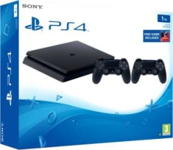 Sony PlayStation 4 1 TB with Drive Club Jet Black, Extra Dual Shock 4 Controller