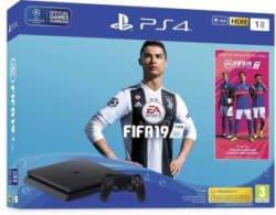 Sony PlayStation 4 1TB with FIFA 19 (Champions Edition) BUNDLE Black