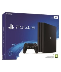 Sony PlayStation PS4 Pro 1TB Console (Jet Black)