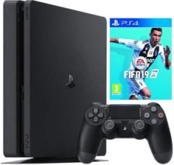 Sony PlayStation 4 Slim New 1 TB GB with Fifa 19 Black