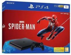 Sony PlayStation 4 1 TB GB with Marvel Spider Man Black