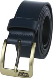 Levi s Men Casual Blue Genuine Leather Belt